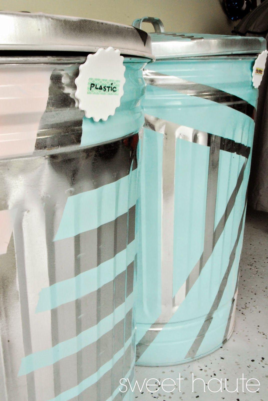 DIY Outdoor Organization: Recycle Bins SWEET HAUTE lowes creator ...