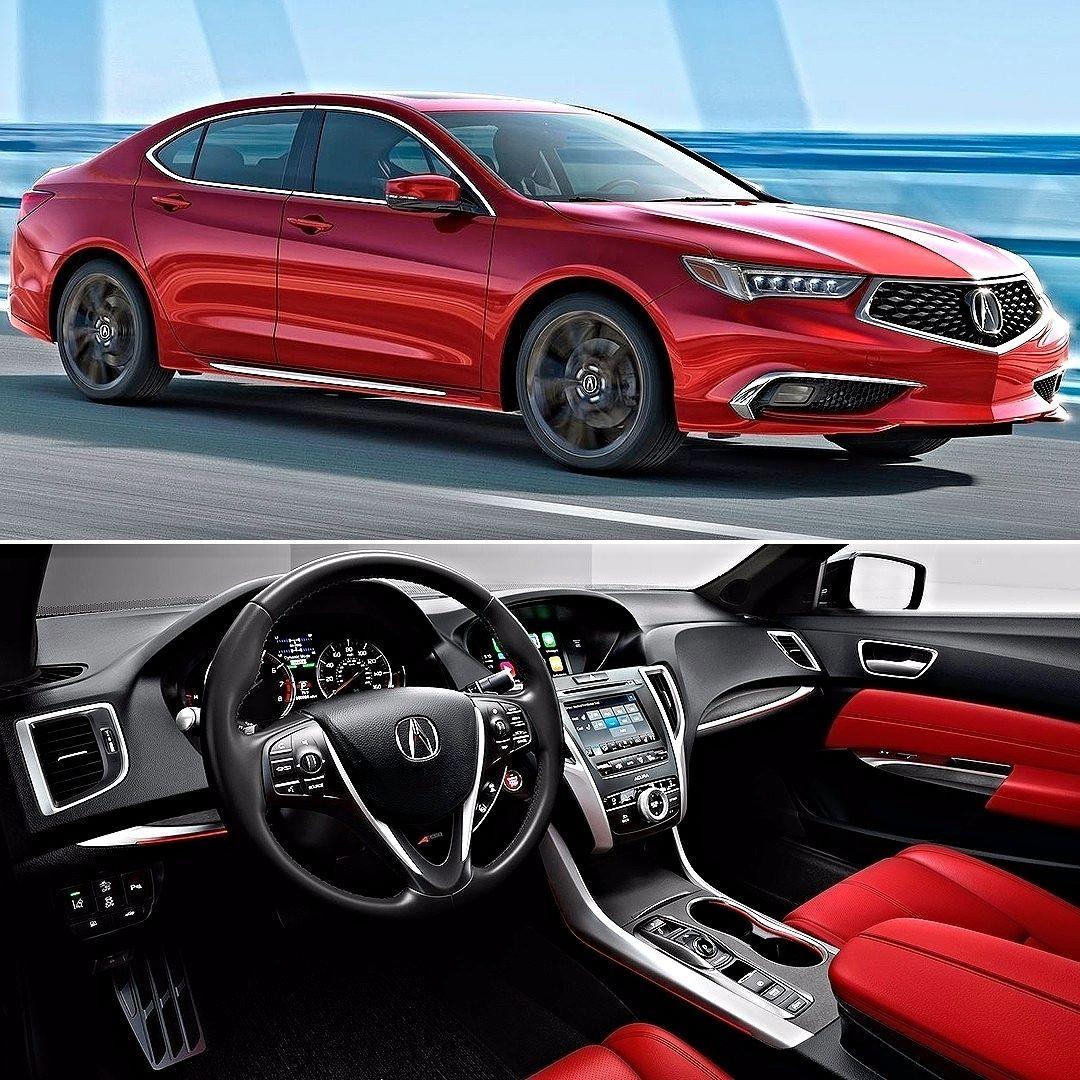 Acura TLX 2018 Esse é O Sedã Mid-size Que Acaba De Ganhar