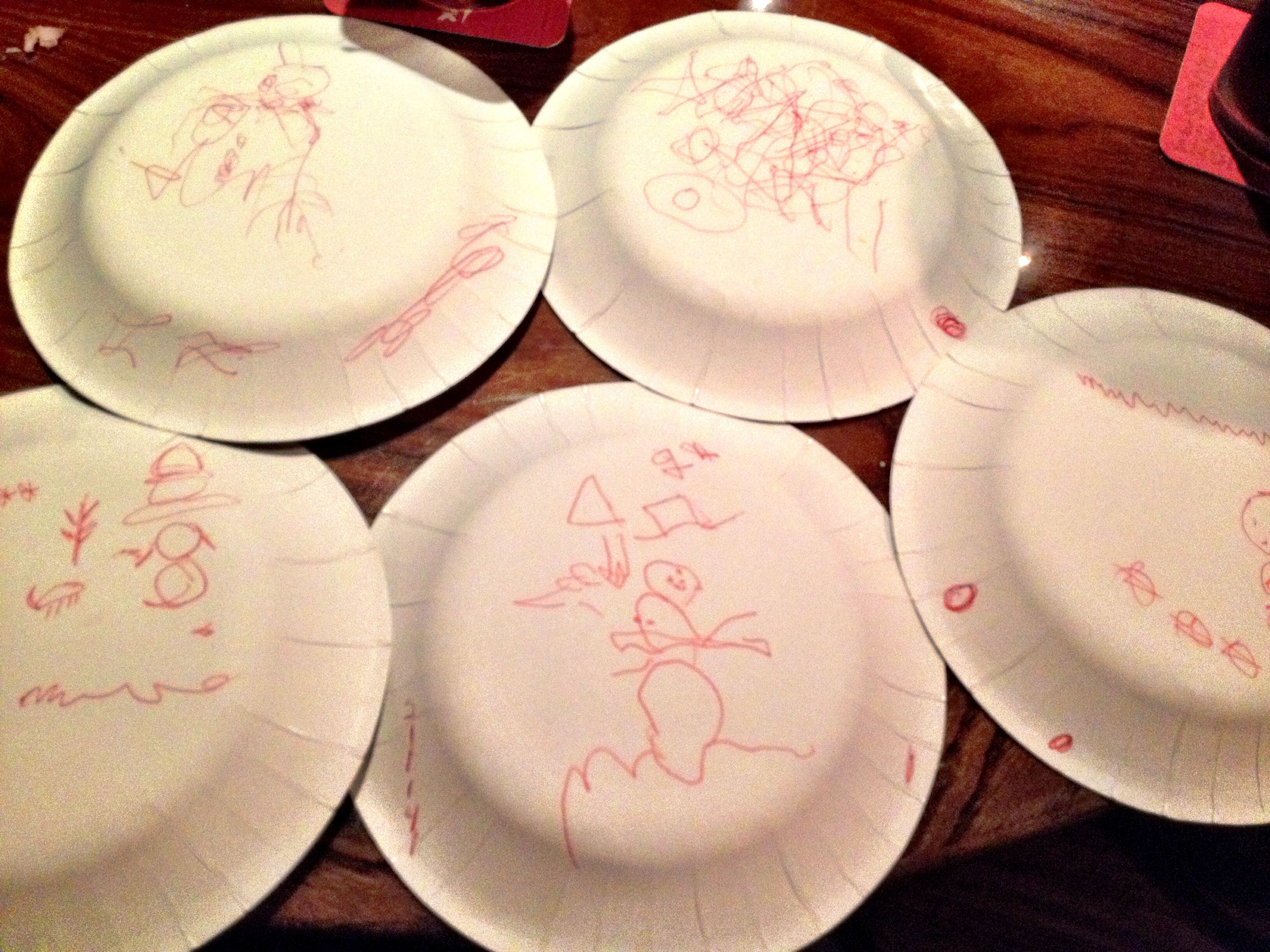 Christmas Game Of Following Instructions To Draw A Snowman While The Plate Is Over Your Head Christmas Games Draw A Snowman Christmas