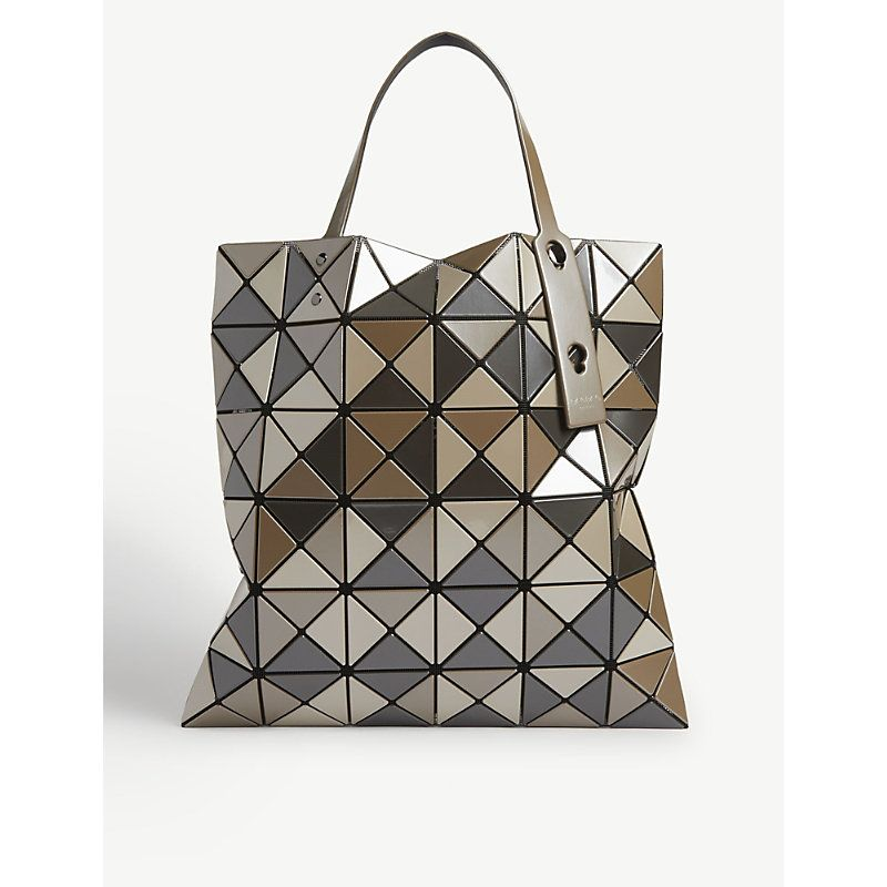 Bao Bao Issey Miyake Lucent Tote Bag In Beige Mix Modesens