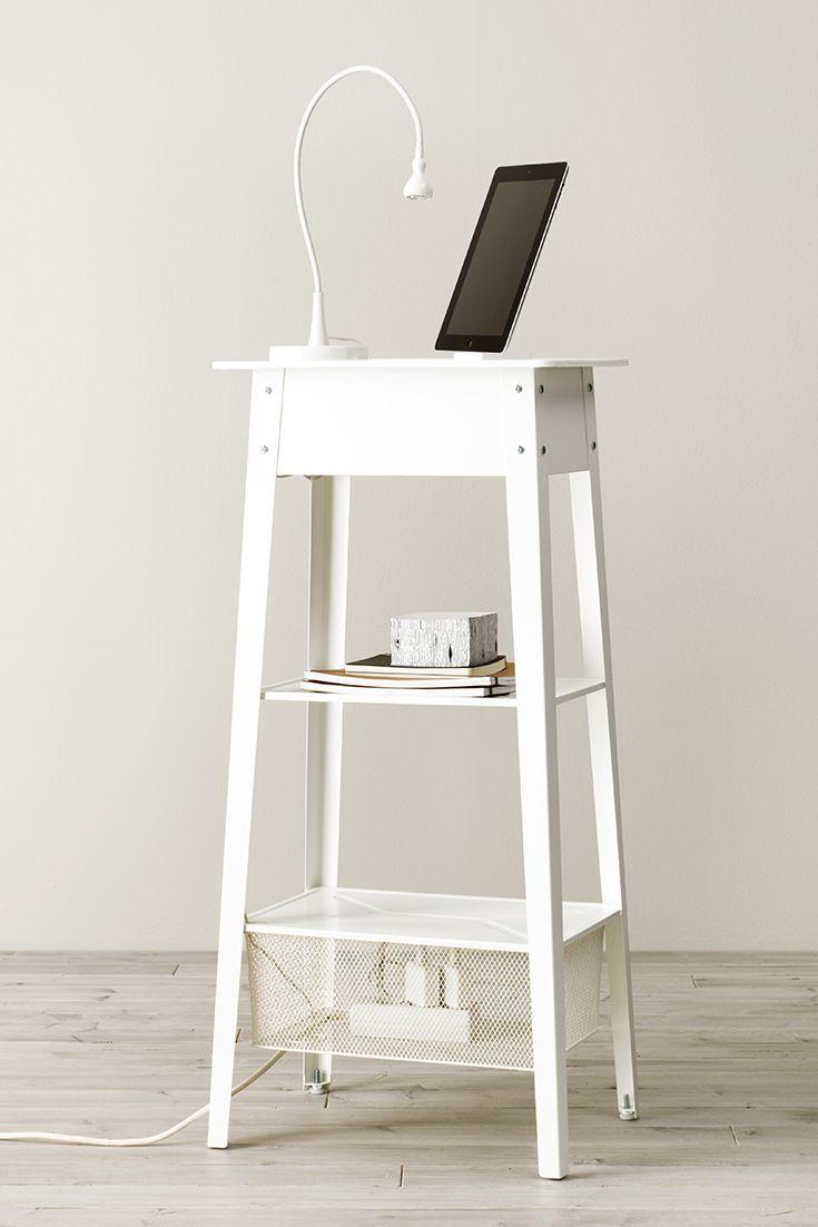 ikea ps 2014 poste travail debout blanc postes de travail espace de placards et ordinateurs. Black Bedroom Furniture Sets. Home Design Ideas
