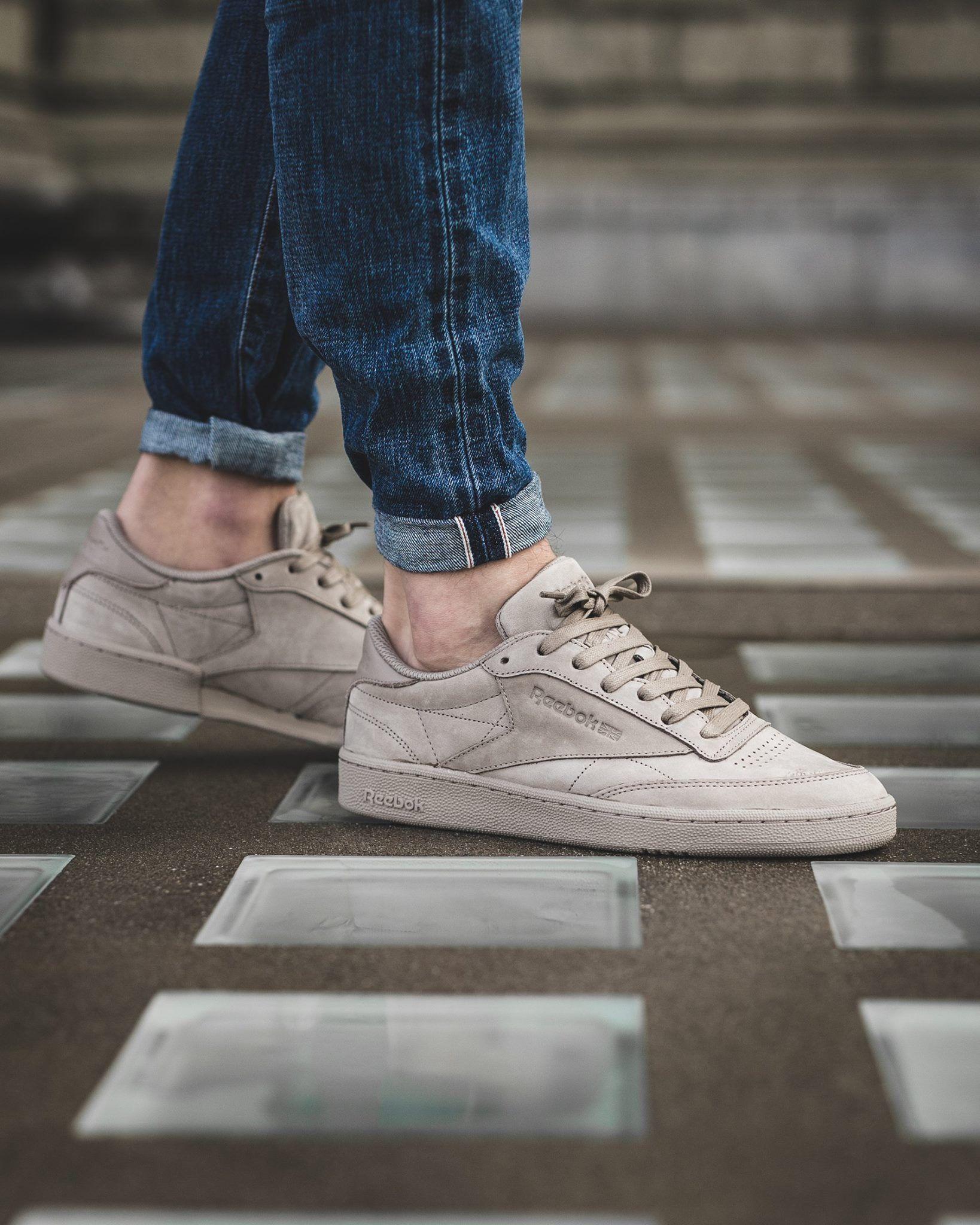Reebok Club C | Zapatos masculinos, Zapatos hombre casual