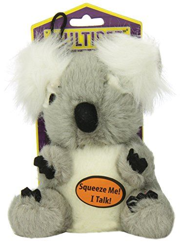 Multipet Look Whos Talking Koala Dog Toy Click On The Image