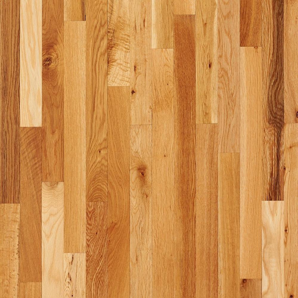 Natural Oak Solid Hardwood Floor Decor Solid Hardwood Floors Oak Wood Floors Wood Floors Wide Plank