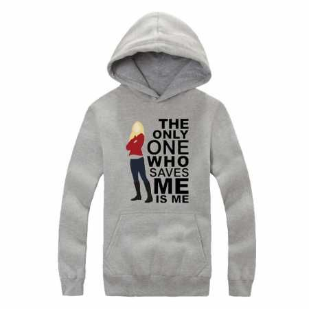 Once Upon a Time hoodie for teens Emma Swan fleece hooded