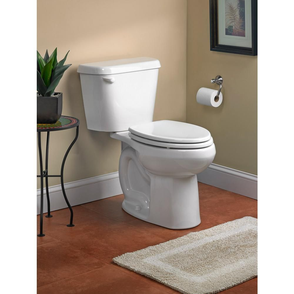 American Standard Colony 2-piece 1.6 GPF Right Height Elongated ...
