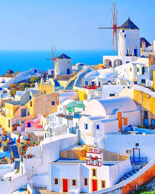 Santorini Greece SUPERB VIEWS In 2018 Pinterest