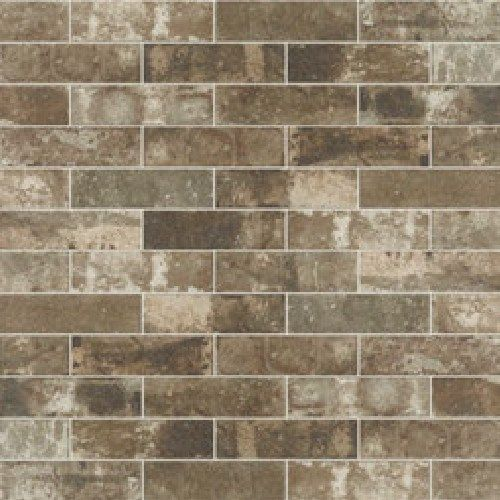 "Kitchen Backsplash Brick Look urban district brx 2"" x 8"" - eastside brick look | ranch kitchen"