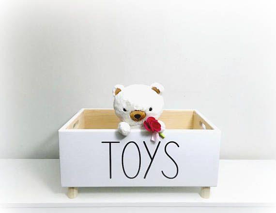 Dog Toy Box Pet Toy Box Dog Toy Storage Modern Toy Box Dog