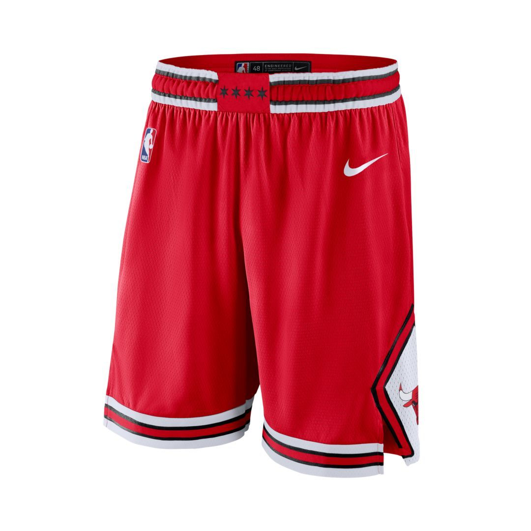 48328206cf Chicago Bulls Icon Edition Swingman Men's Nike NBA Shorts Size 3XL  (University Red)