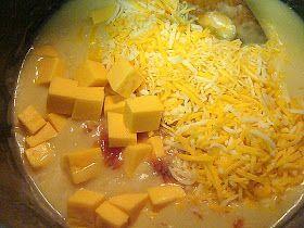 Krista's Kitchen: Cheesy Chicken Tortilla Soup
