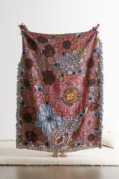 Calhoun & Co. Dream Garden Throw Blanket