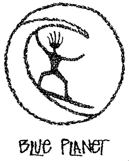 Blue Planet Petro Surf Tee Shirt
