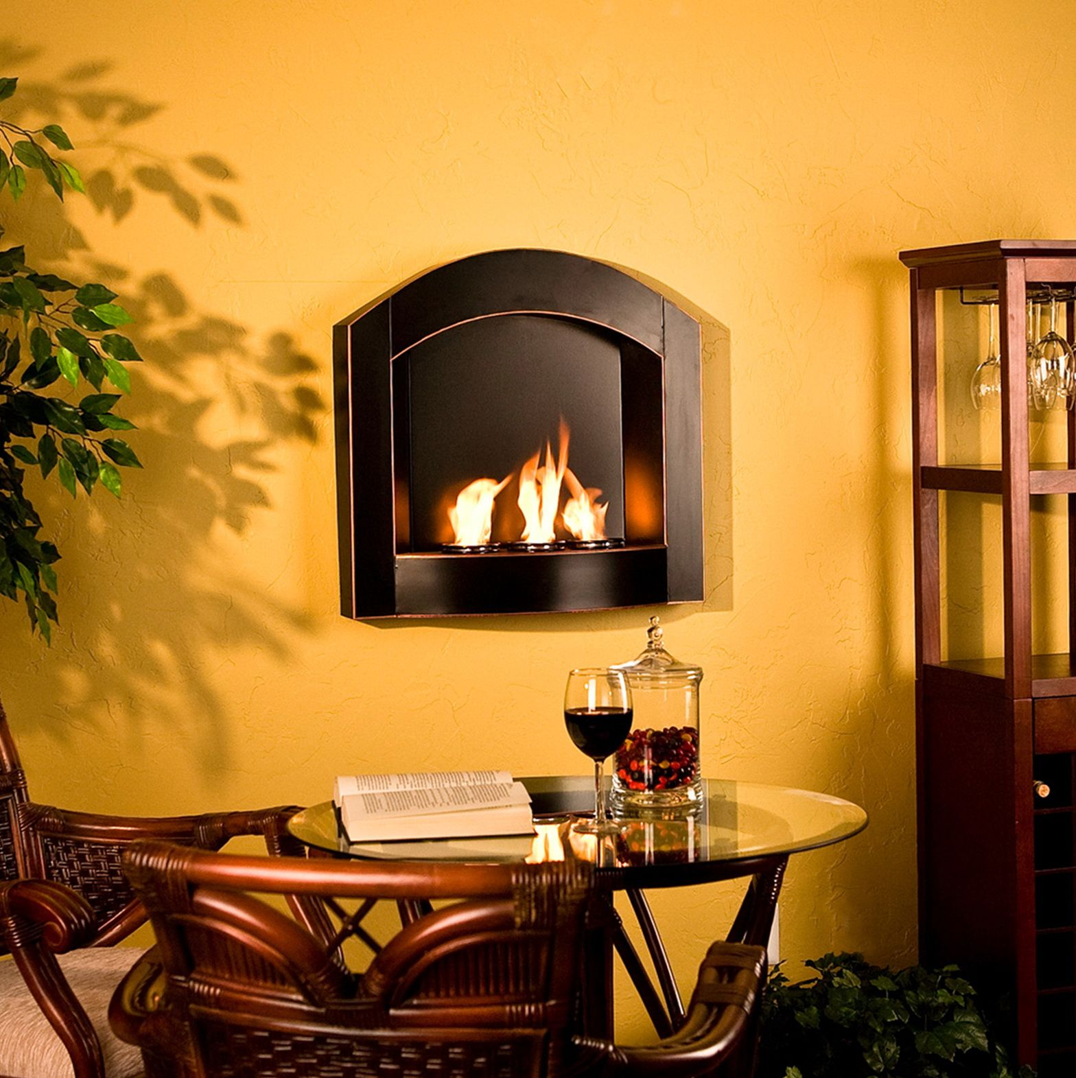 Small Wall Mounted Gas Fireplaces | Fireplace | Pinterest ...