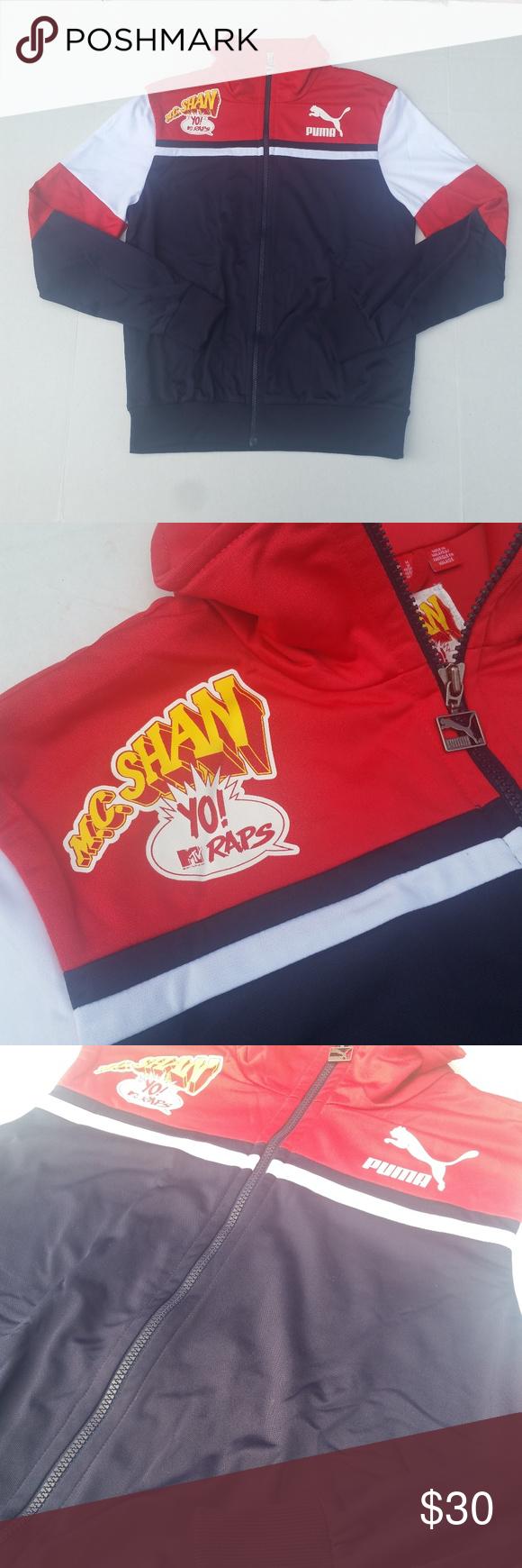 bbad527566de Vintage MTVRaps Puma Track jacket Great condition vintage Puma MTV Raps