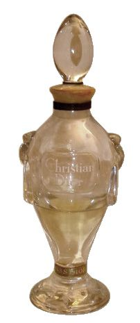 Highly Collectible 50's Christian Dior Miss Dior Baccarat Pure Perfume Bottle & Box Mint condition.