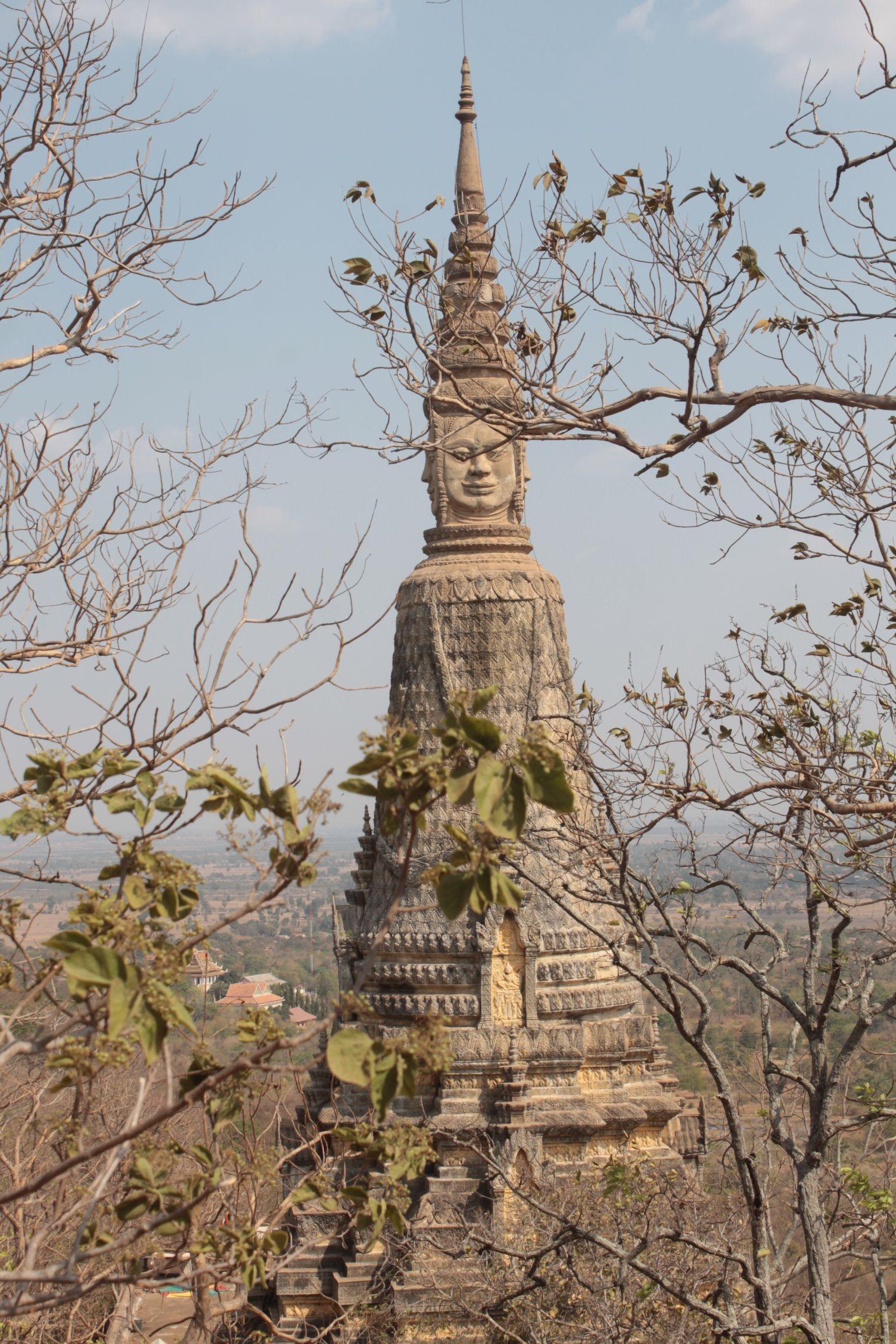 Pagoda del monte Oudong