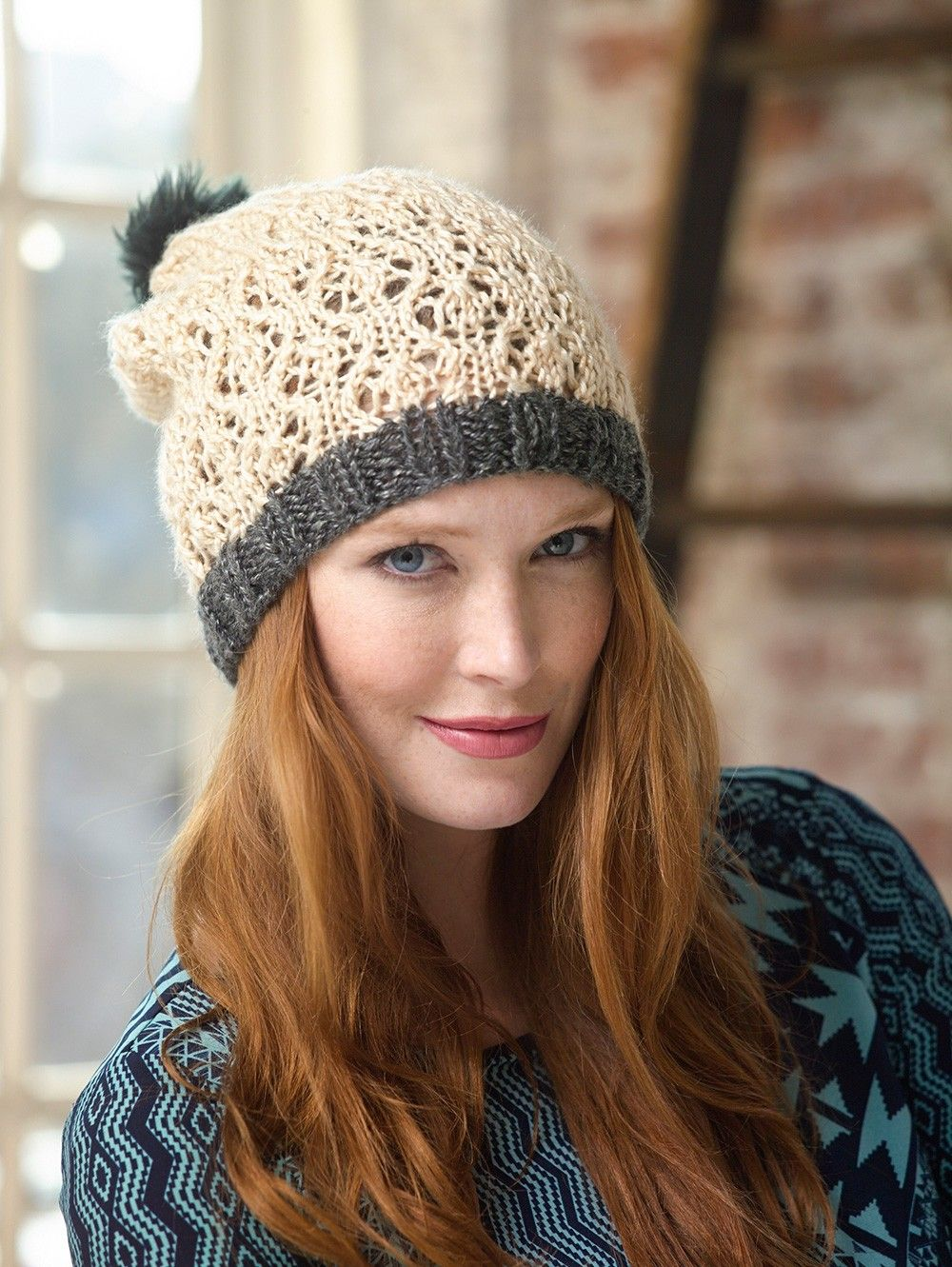 Lacework Hat Pattern (Knit) | Crochnit | Pinterest | Patterns, Knit ...