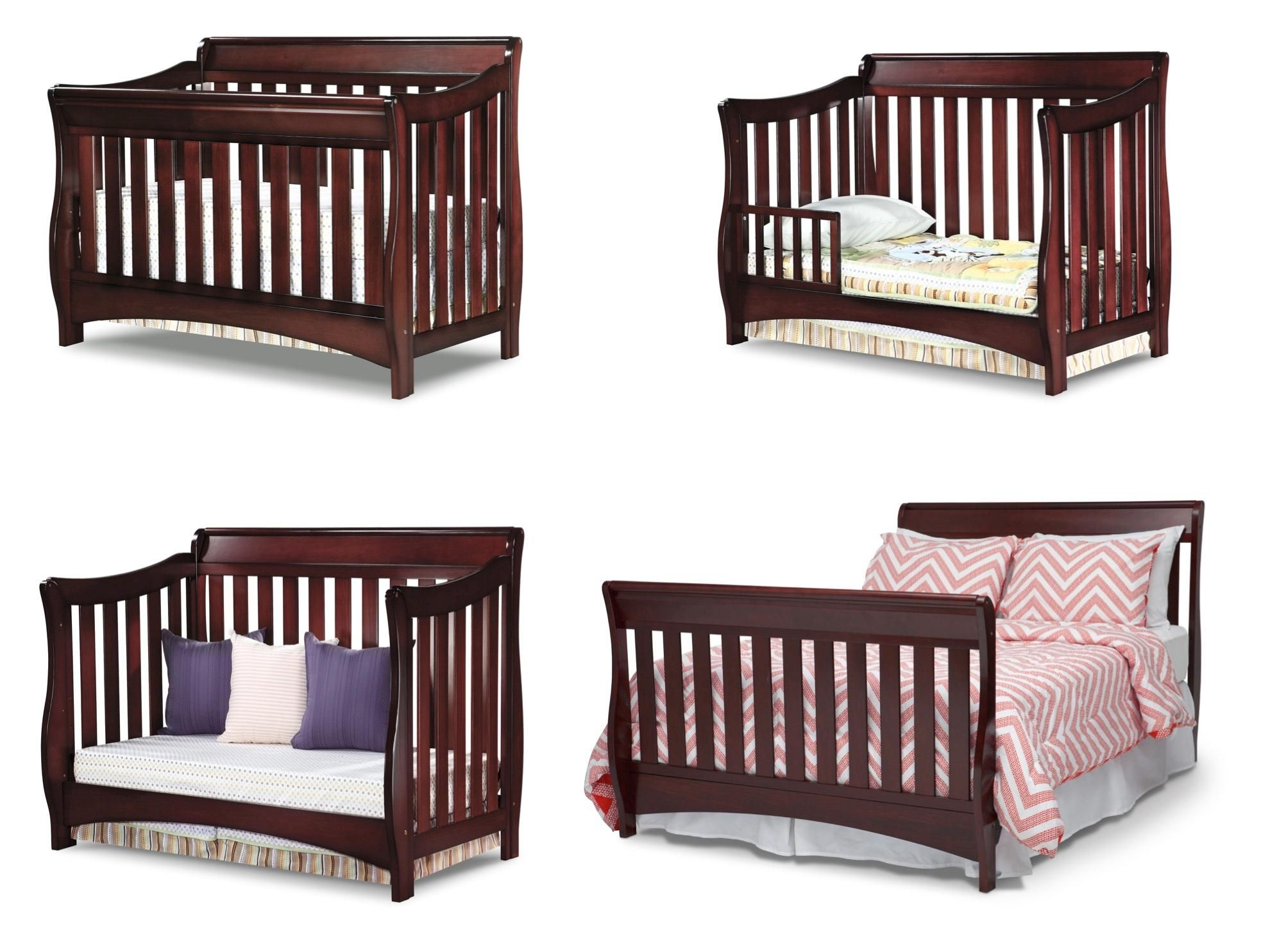 Sleigh Crib Traditional Timeless Clic Nursery