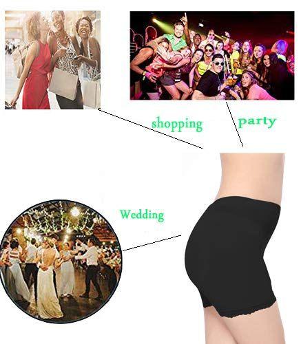 77ff6af925a RosinKing Silicone Pads Hip Enhancer Underwear Shapewear Fake Buttocks  Briefs Control Seamless Lace for Women (Size  M L XL)