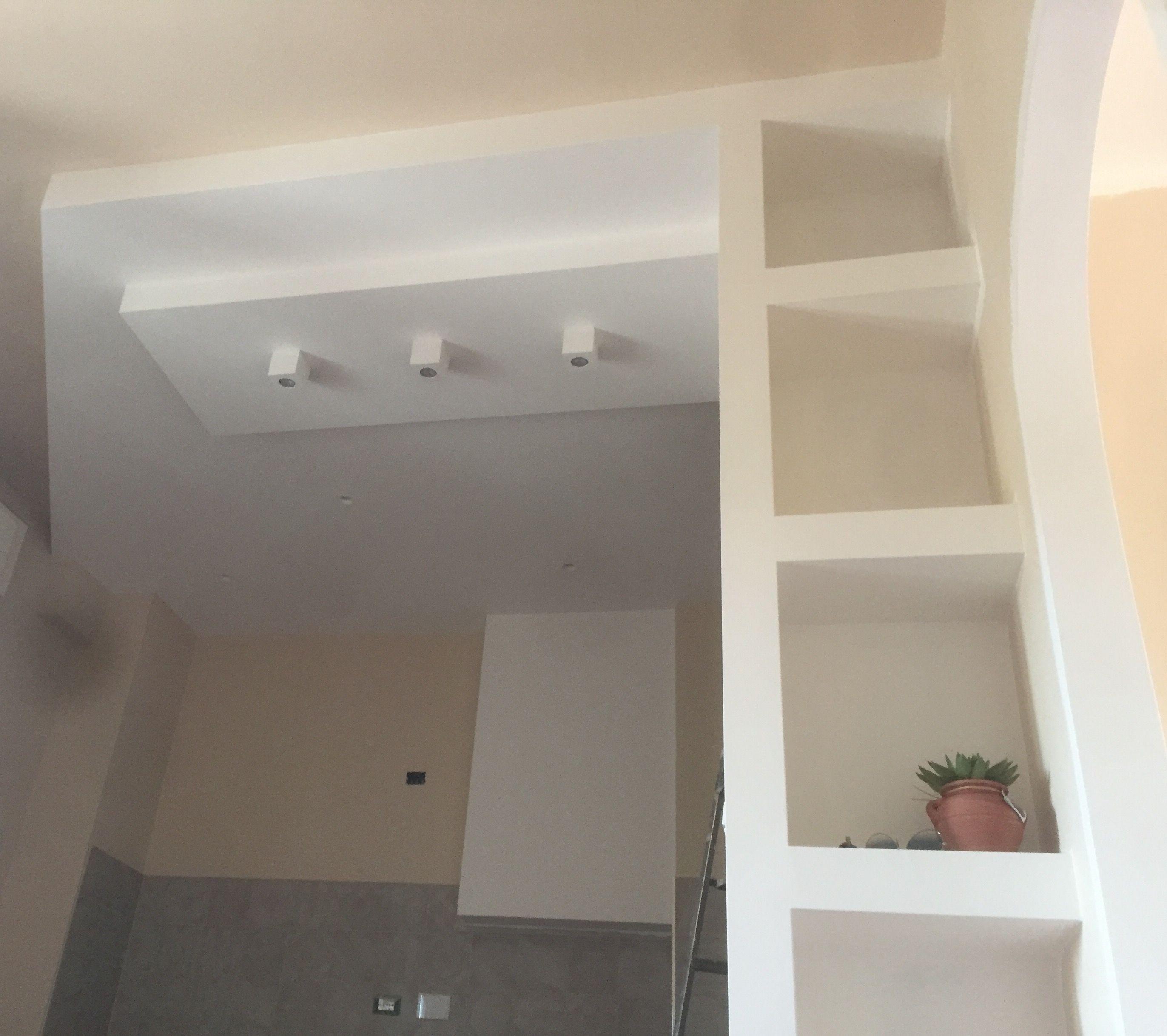 Cucina in costruzione #kitchen #cucina #cartongesso | Home-work in ...