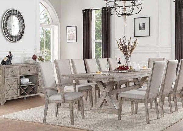 Acme Furniture   Rocky 14 Piece Dining Room Set   72860 14SET