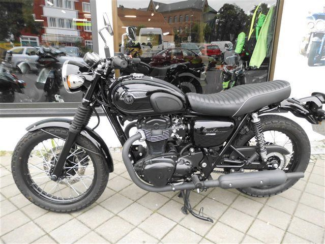 Kawasaki W 800 W800 Black Edition Als Andere In Magdeburg
