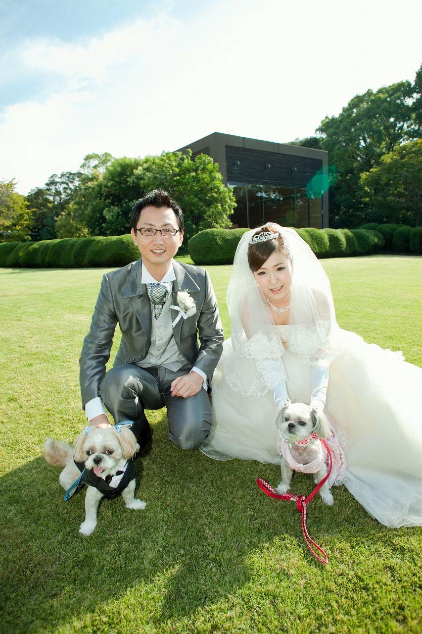 Wedding Dog 愛犬と一緒の結婚式 レストランウエディング ペット ウエディング