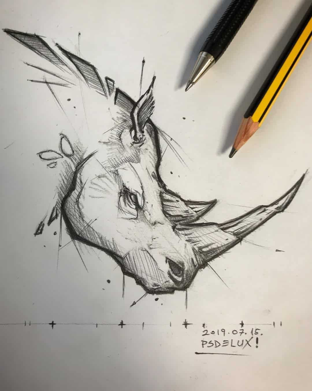 Pencil Sketch Artist Psdelux | Animal drawings | ARTWOONZ