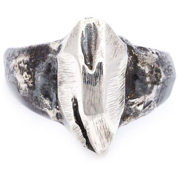 Lee Brennan Design Celtic ornament ring - Grey r3hubWq