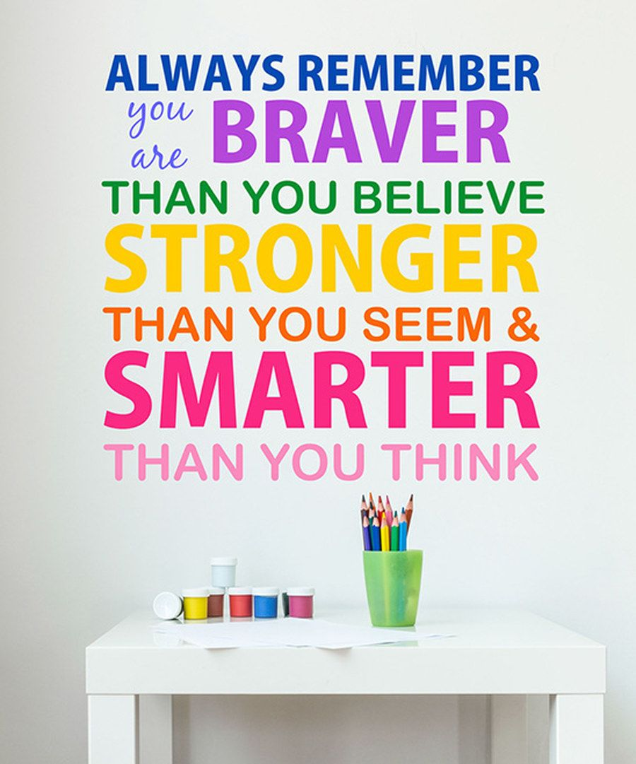Zulily Home Decor: Look At This 'Always Remember' Wall Decal On #zulily Today