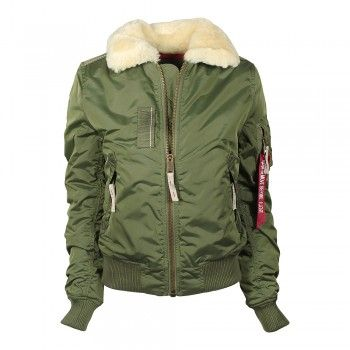 Alpha Industries Damen Jacke Injector III Jacke Sage Green