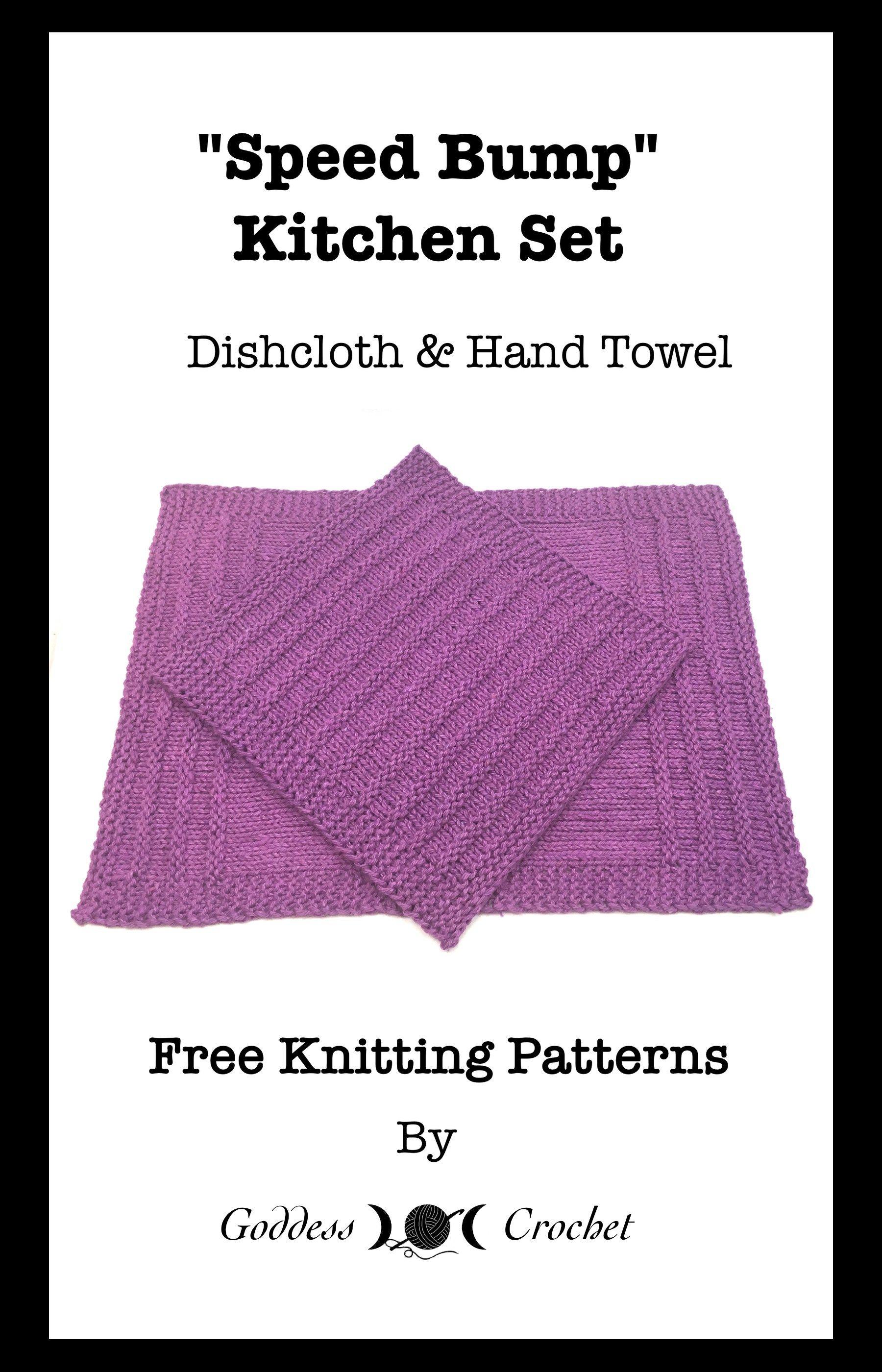 Speed Bump Hand Towel – Free Knitting Pattern | Knitting Ideas ...