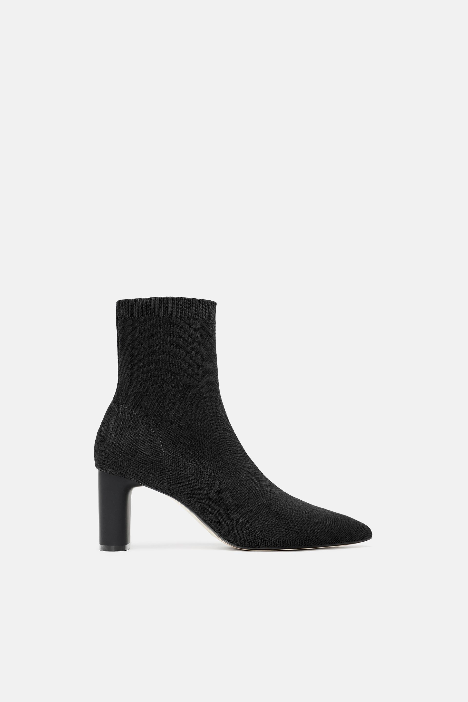 c0f4553d0b3 Image 2 of FABRIC HEELED ANKLE BOOTS from Zara