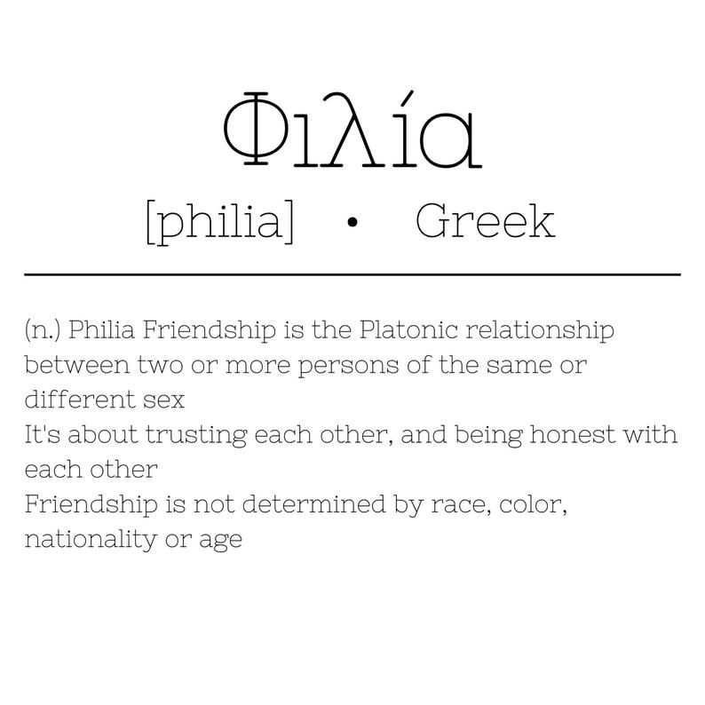 Definition Of A Platonic Friendship - definitoin