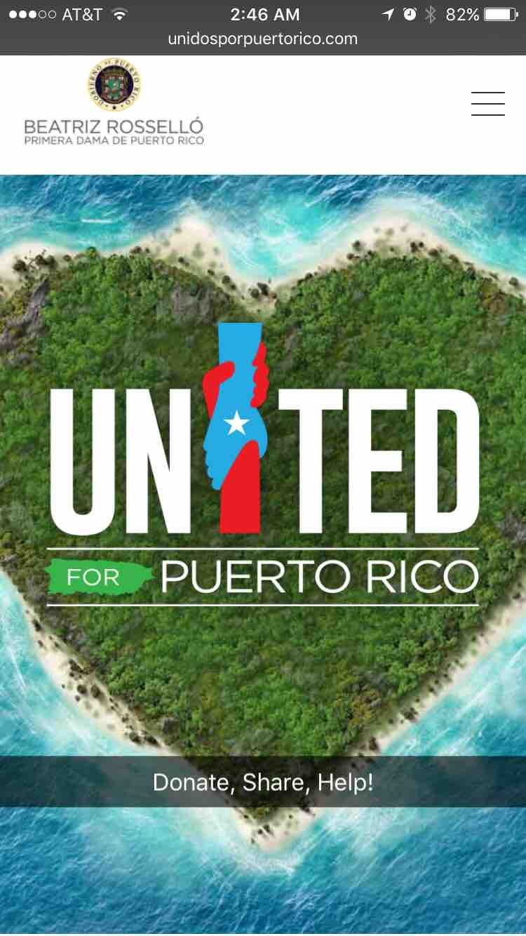 Puerto Rico Map World%0A Fundraiser by Daisy Estrada   Puerto Rico Hurricane Maria Relief