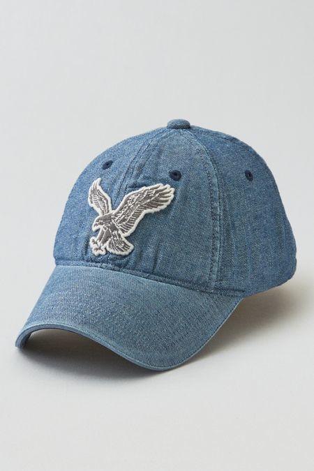 b1a204402de7d American Eagle Outfitters AEO Chambray Baseball Hat Aeo