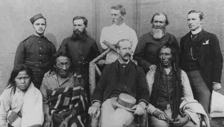 Photograph of a group of participants in the northwest