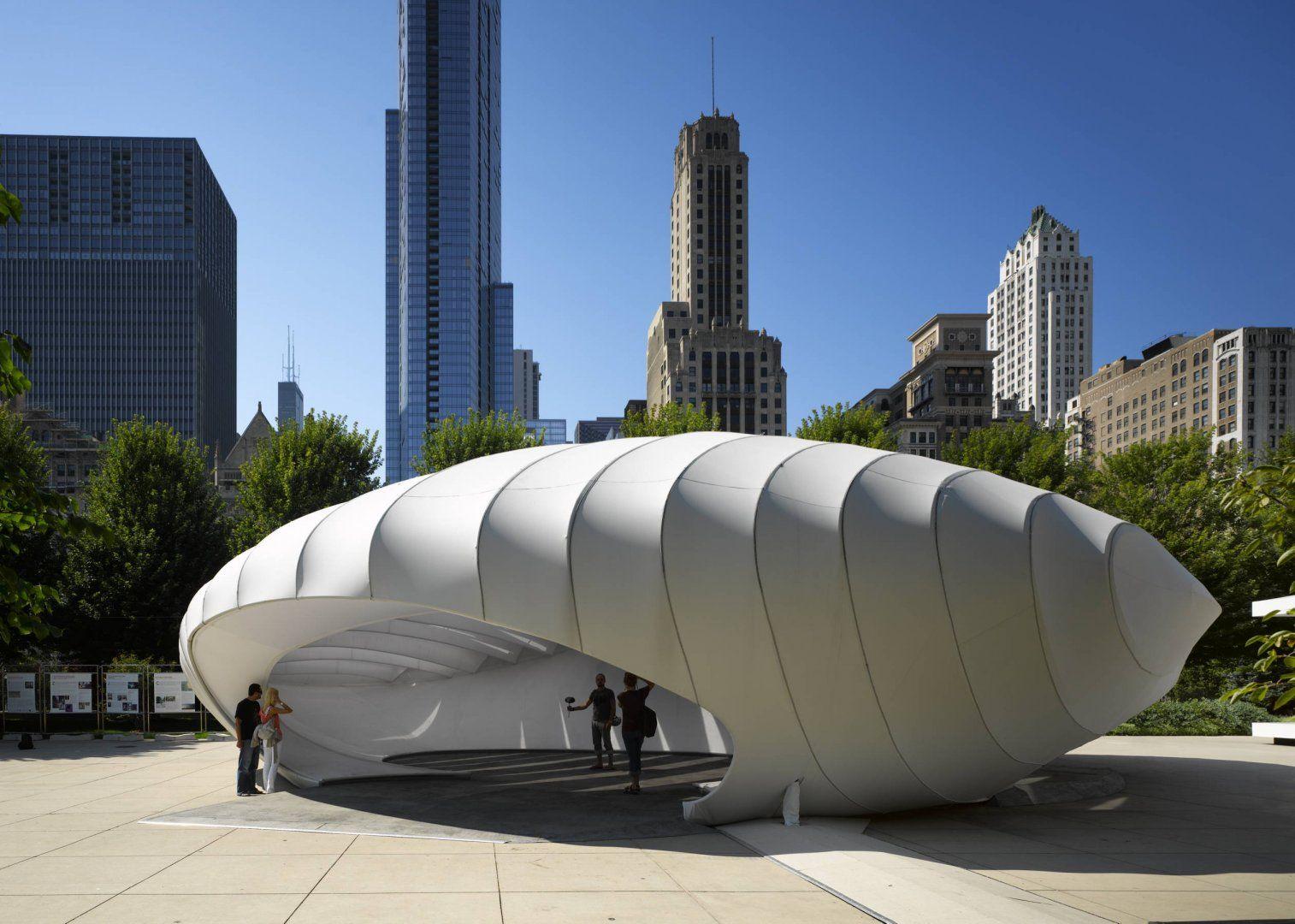 Burnham Pavillion - Architecture - Zaha Hadid Architects | ArhTrends ...