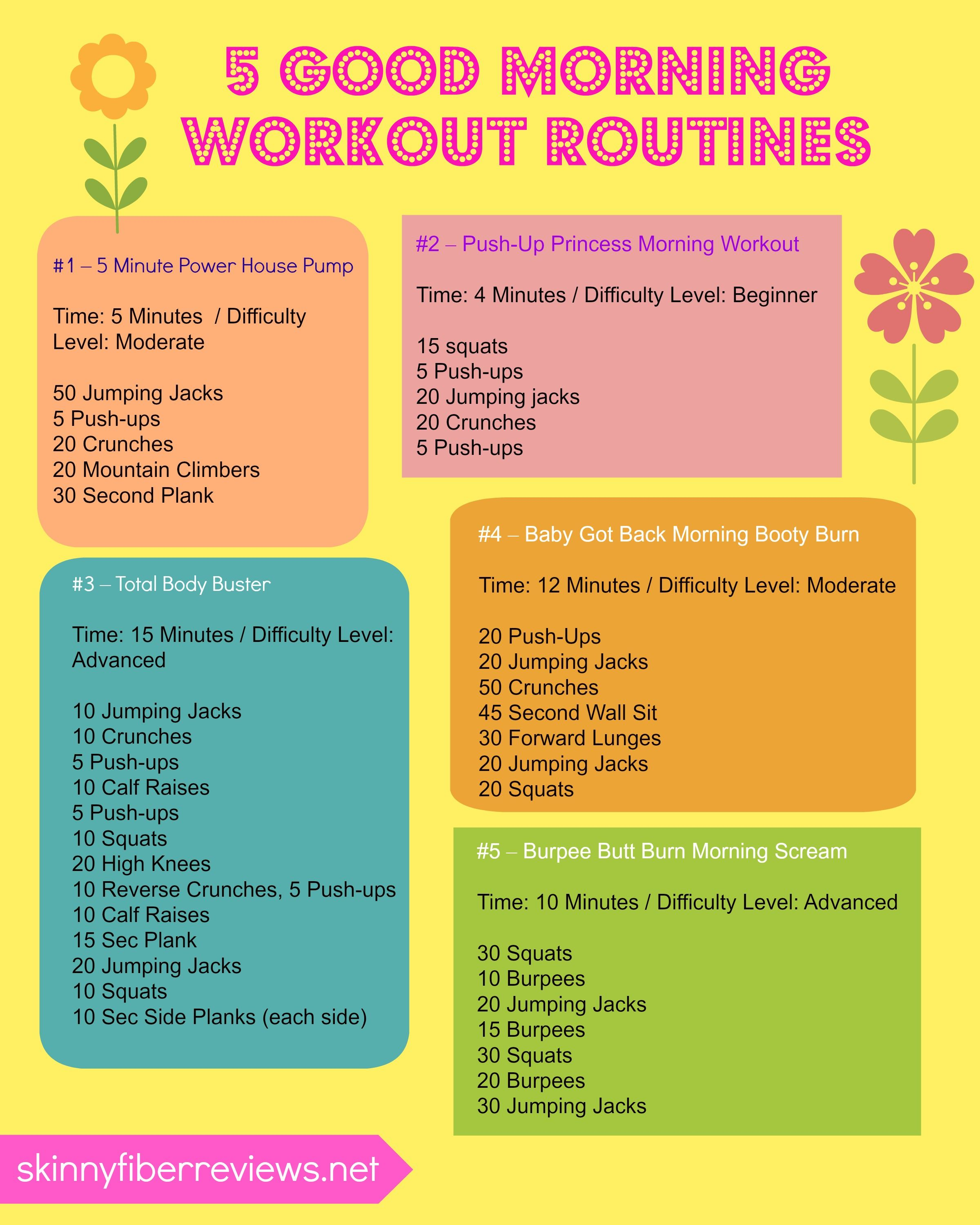 Quick Strategies In Strength Training Uncovered: 5 Morning Workout Routines To Do Before Work! Quick