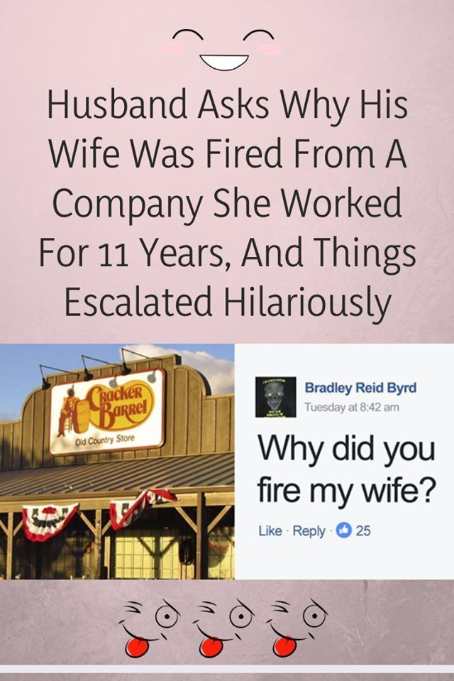 Photo of Husband Asks Why His Wife Was Fired From A Company She Worked For 11 Years, And …