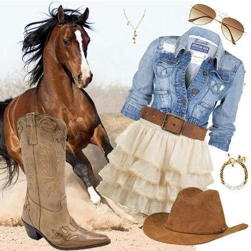 ec53f6bec7be7 in love with country style  u  Mais Moda Cowtry Feminina