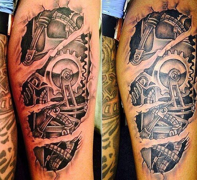Engranajes Tatuajes