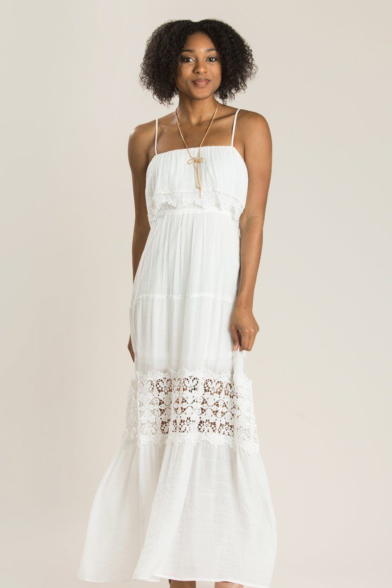 c78cb97c3125c9 Angelina Off White Crochet Maxi Dress - Morning Lavender ...