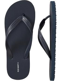 1133defbe128d8 Mens New Classic Flip-Flops OLD NAVY GREY