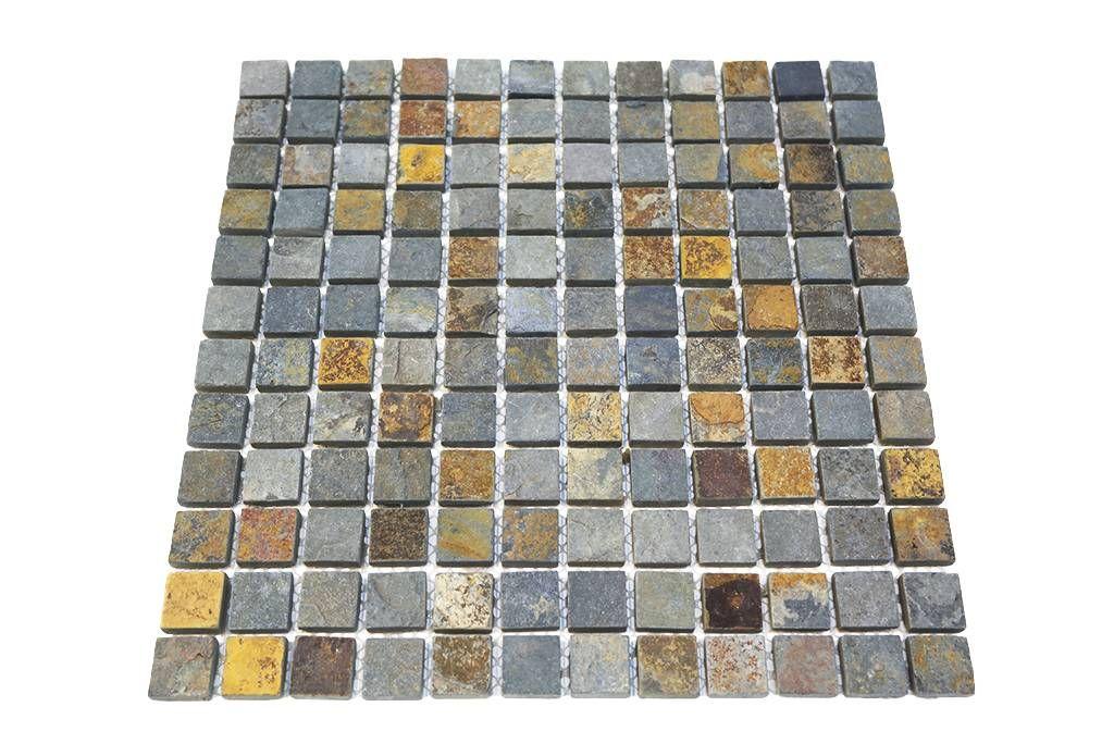 Bärwolf Naturstein Mosaikfliesen CM Rustic Mosaic Outlet - Mosaik fliesen outlet