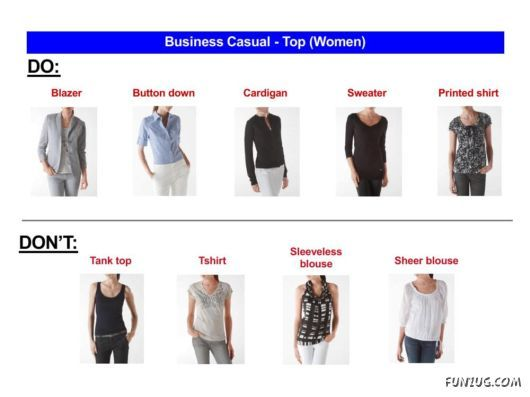 1d09bad3e05 Don t) Business Casual Outfits