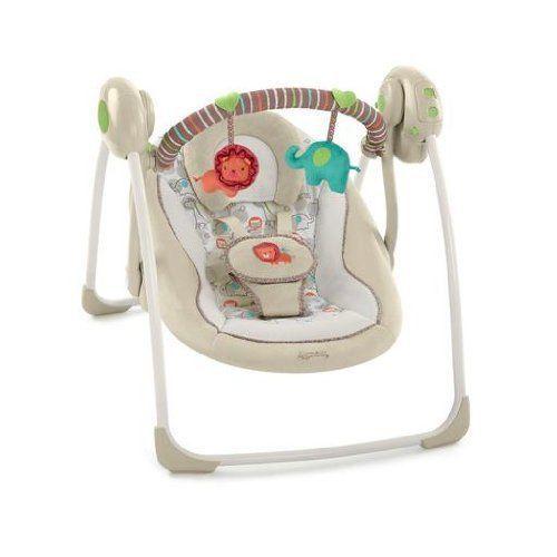 Baby Newborn Infant Musical Swing Lions Elephants Zoo Animals Rocker Bouncer New Portable Baby Swing Baby Bouncer Baby Swings