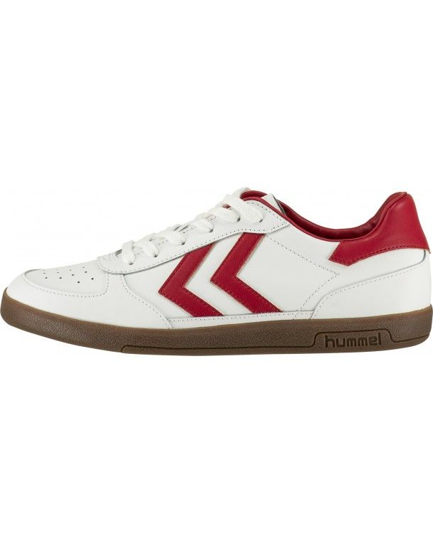hummel Victory Leather - White - Men Sneakers