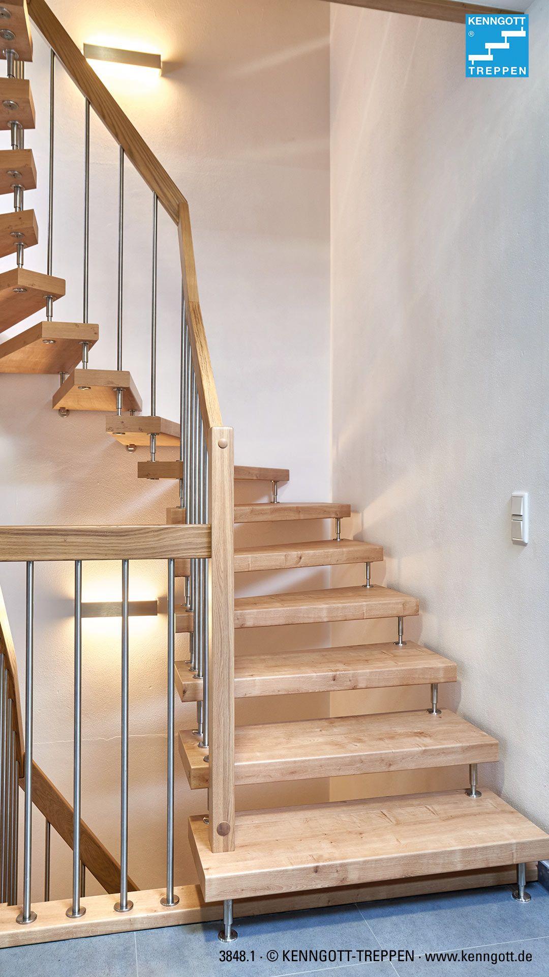 Pflegeleichtes Stufenmaterial dauerhaft schön – Eiche Dekor Longlife